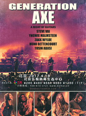 GENERATION AXE - A Nigth of Guitars Live Concert